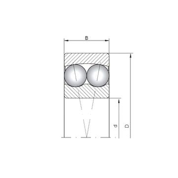1306 ISO Self Aligning Ball Bearings