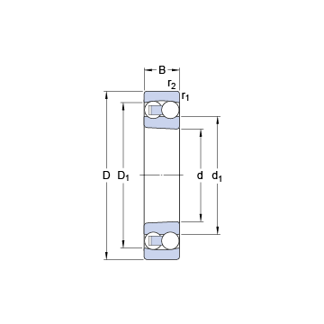 2207 EKTN9 SKF Self Aligning Ball Bearings