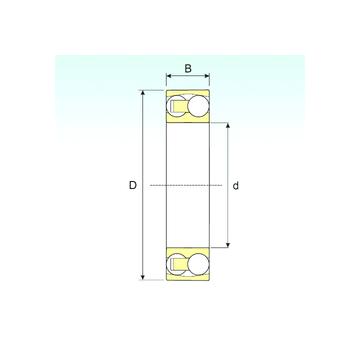 135 TN9 ISB Self Aligning Ball Bearings