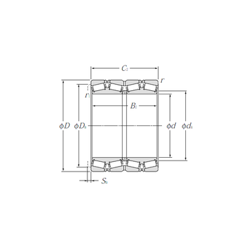 E-LM742749D/LM742714/LM742714D NTN Tapered Roller Bearings