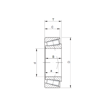 02872/02820 CX Tapered Roller Bearings