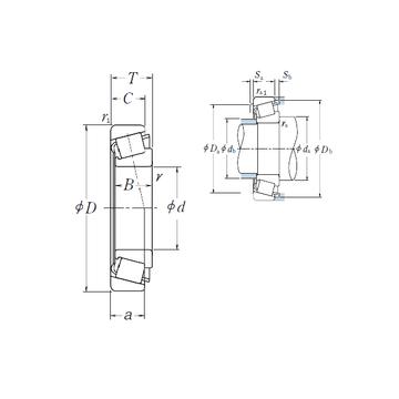HR322/22 NSK Tapered Roller Bearings