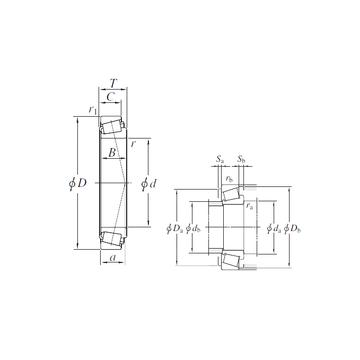 HM231149/HM231110 KOYO Tapered Roller Bearings