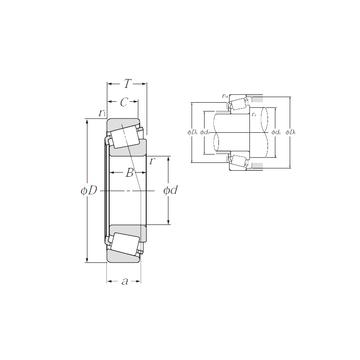 4T-15100/15245 NTN Tapered Roller Bearings