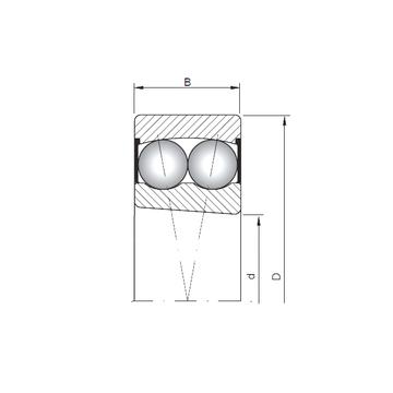 2209K-2RS ISO Self Aligning Ball Bearings