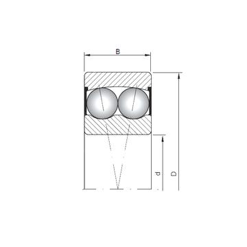 2205-2RS ISO Self Aligning Ball Bearings